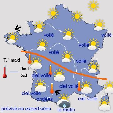 Meteo marseille (13000 FR) 1er site meteo pour Marseille