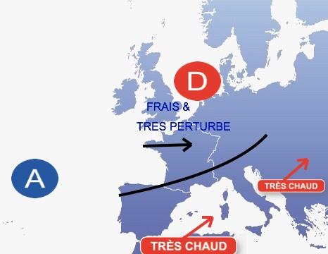 Image d'illustration pour Un début d'été 2012 exceptionnellement pourri, sauf au Sud-est