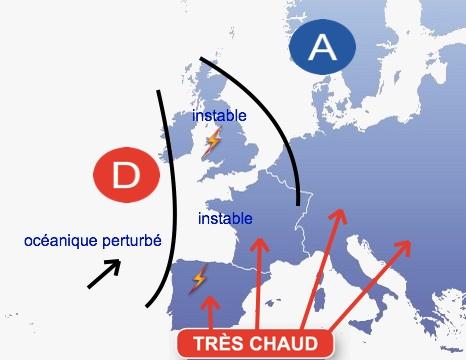 La canicule se confirme partir de la fin de la semaine 14 aout 2012 - Meteo cholet 49 ...