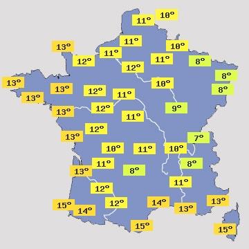 Paris - Prévisions météo à 15 jours - Le premier site ...