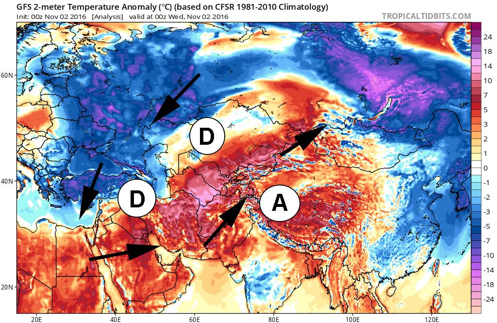 Image d'illustration pour Chaleur record en Asie Centrale