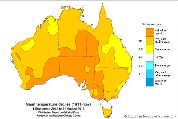 Image d'illustration pour Chaleur et incendies en Australie