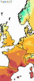 Image d'illustration pour Très forte chaleur au Sud, plus frais au Nord