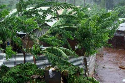 Image d'illustration pour Orages, chaleur et dépression tropicale autour de La Réunion