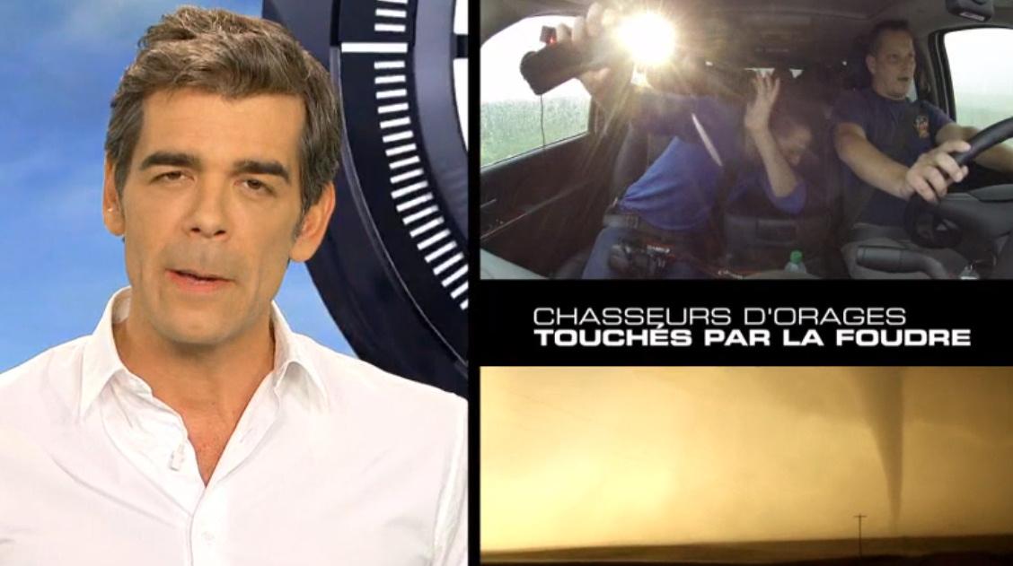 Image d'illustration pour 66 minutes sur M6 : les chasseurs d'orages et de tornades français