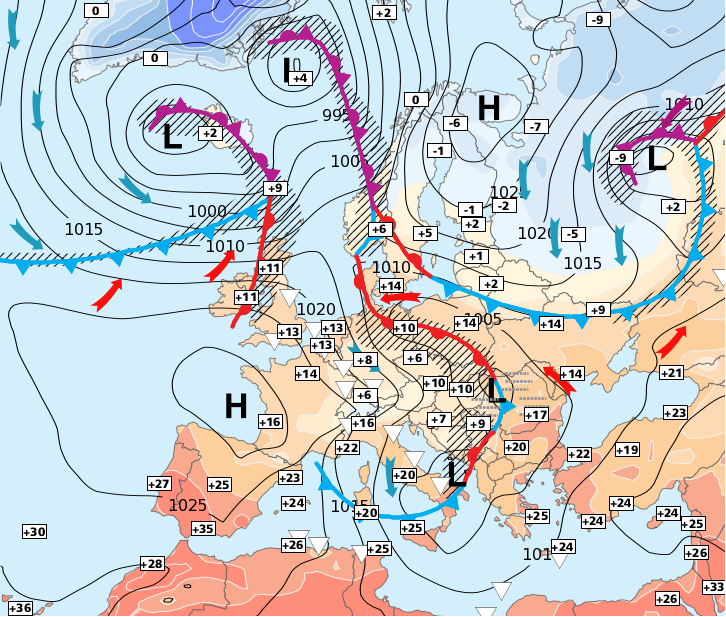 Image d'illustration pour Grand froid en Russie - Neige en Autriche - Forte chaleur en Espagne et Portugal