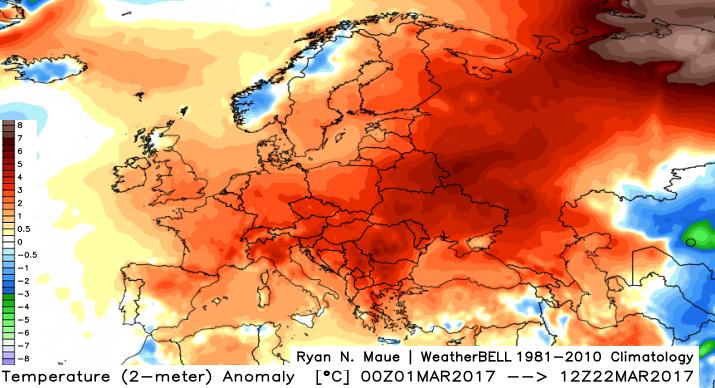 Image d'illustration pour Vers un printemps et un été plus chauds que la normale ?