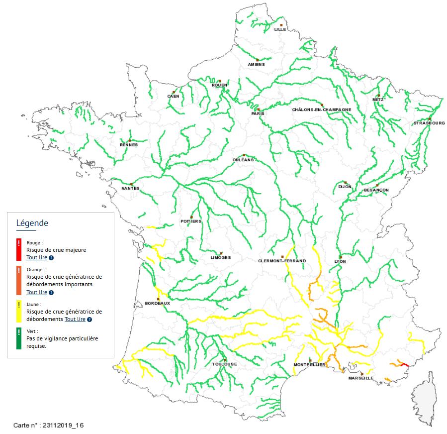 Image d'illustration pour Episode pluvieux en Méditerranée : suivi et prévisions