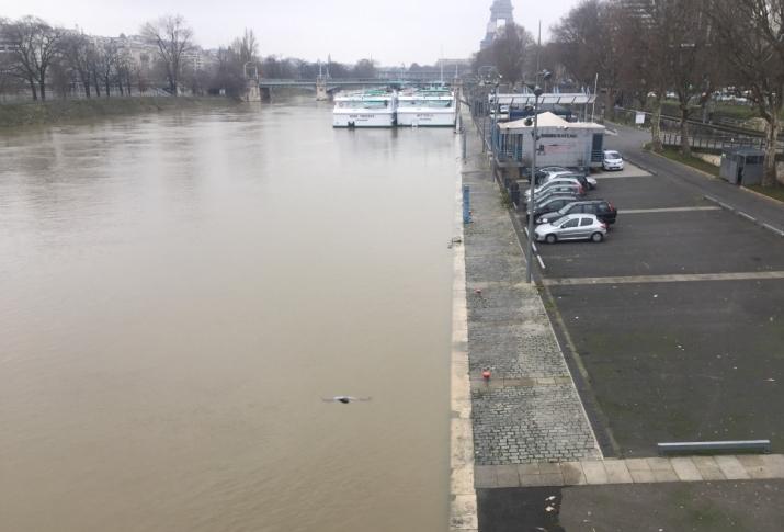 Image d'illustration pour Crue de la Seine et de la Saône