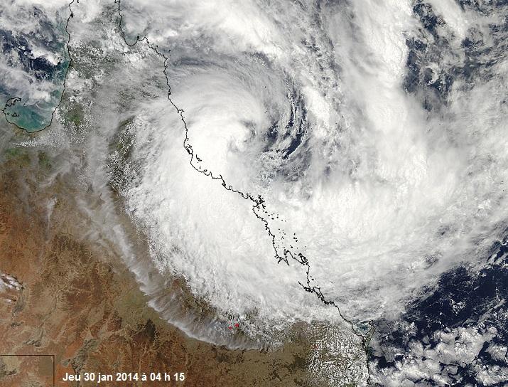 Image d'illustration pour Tempête tropicale Dylan (Australie)