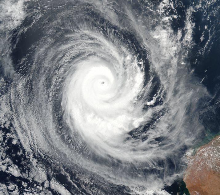 Image d'illustration pour Pluie diluvienne en Nouvelle Calédonie & cyclones en Australie