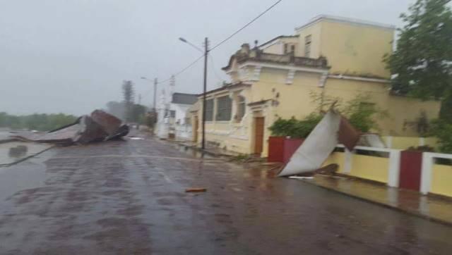 Image d'illustration pour Le cyclone Dineo impacte le Mozambique