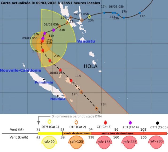 Image d'illustration pour Cyclone Hola en Nouvelle Calédonie