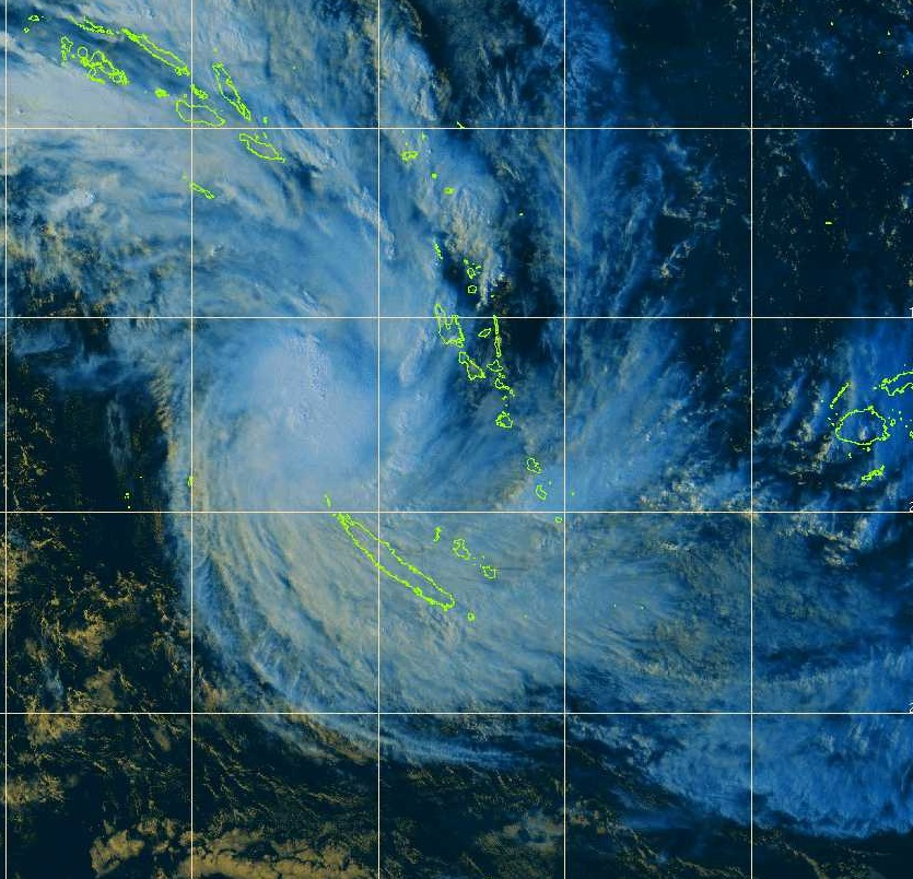 Image d'illustration pour Dépression tropicale June (Nouvelle Calédonie)
