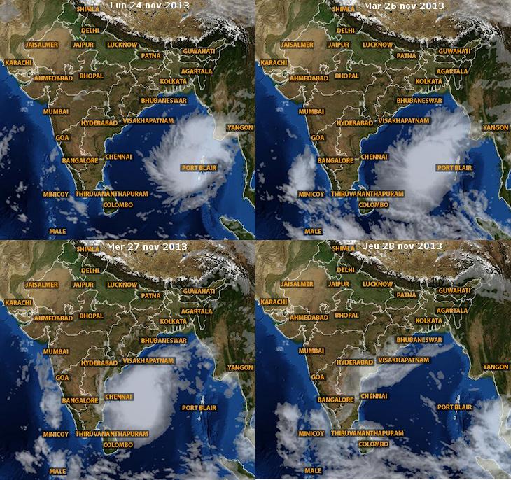 Image d'illustration pour Ex cyclone Lehar (Inde)