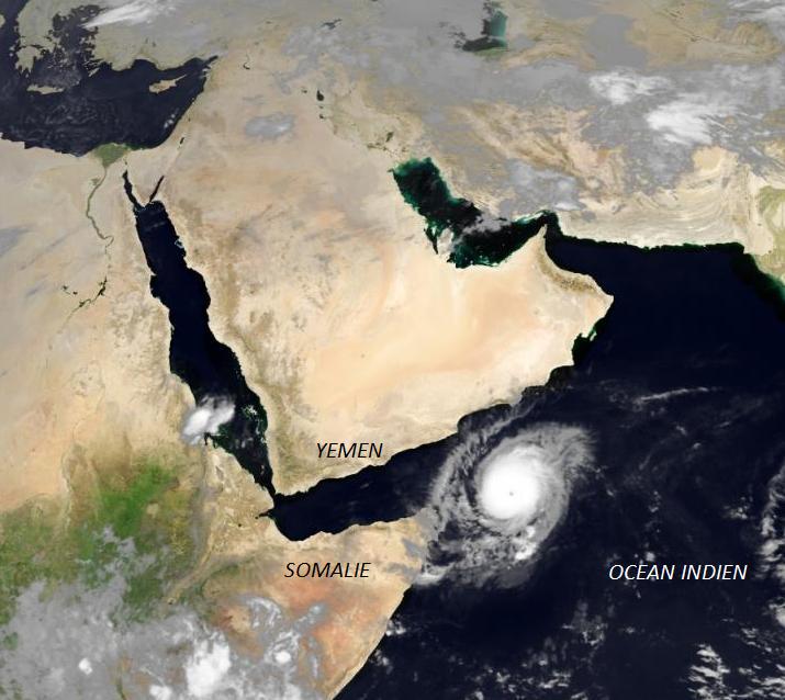 Image d'illustration pour Cyclone Megh en Mer d'Arabie, Socotra, Yemen et Somalie