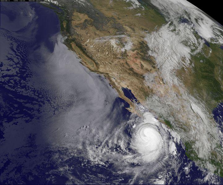 Image d'illustration pour Cyclone Norbert : dégâts au Mexique et aux Etats Unis