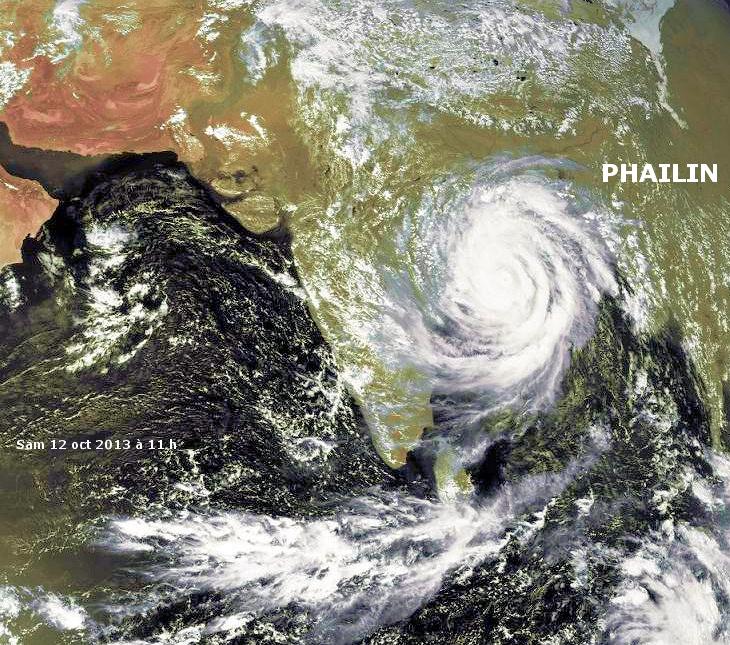 Image d'illustration pour Cyclone très intense Phailin (Inde)