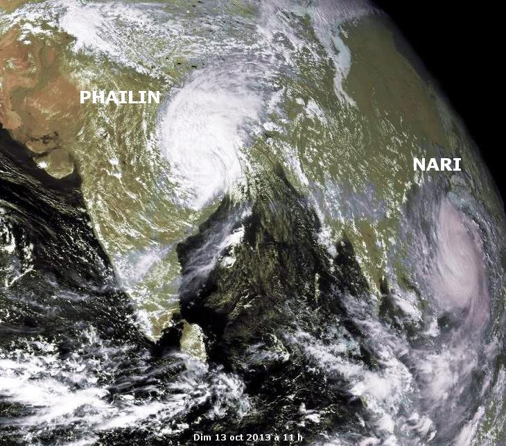 Image d'illustration pour Ex cyclone très intense Phailin (Inde)