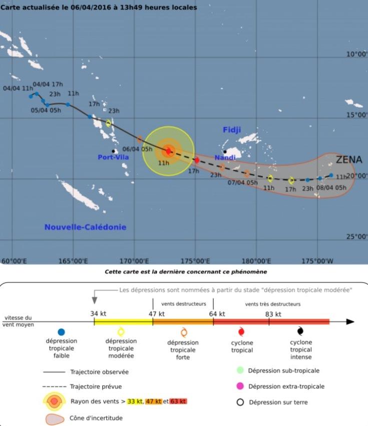 Image d'illustration pour Le cyclone Zena aggrave les inondations sur les îles Fidji