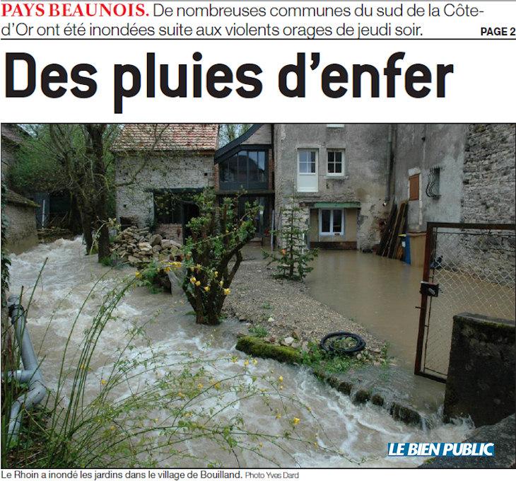 Image d'illustration pour Crues : nombreux dégâts dans le Nord-Est - 1 mort en Suisse