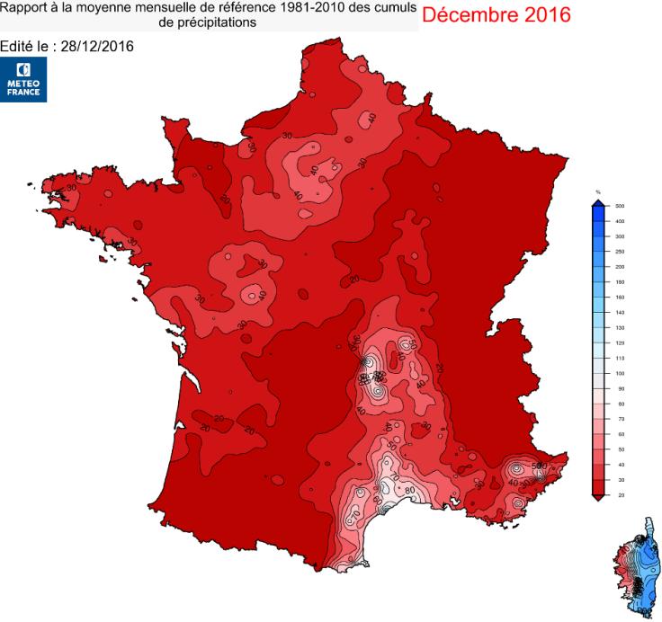 Image d'illustration pour Un mois de décembre exceptionnellement ensoleillé et sec