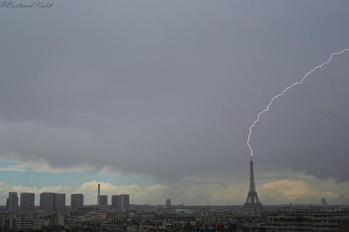 Image d'illustration pour Pluie, tempête et orages de grêle ce 8 mai 2019
