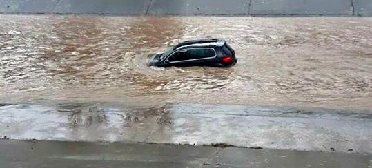 Image d'illustration pour La dépression Zissi provoque tempête, inondations, neige et avalanche