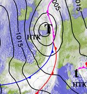 Image d'illustration pour BILAN - Dépression Doris : vent, vagues & submersions sur le Nord-Ouest