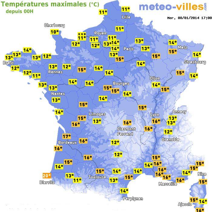 Image d'illustration pour Douceur au paroxysme ce mercredi sur la France