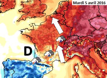 Image d'illustration pour Vers une période plus douce mais instable avant le retour du froid ?