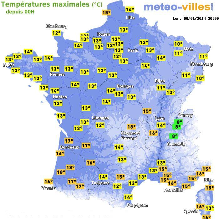 Image d'illustration pour Douceur persistante sur la France