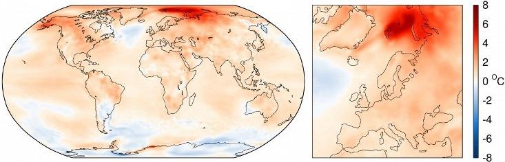 Image d'illustration pour Nouveau record de douceur mondial en septembre 2016
