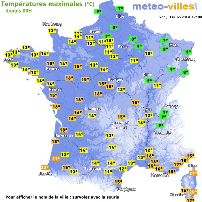 Image d'illustration pour Douceur sur la France - record en Corse