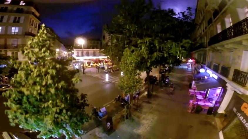 Image d'illustration pour Drone à Paris pendant l'orage - Drone et météo
