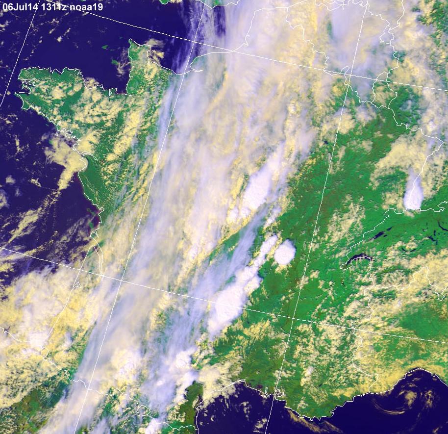 Image d'illustration pour Synthèse de l'épisode pluvio-orageux des 6 et 7 juillet
