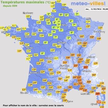 Image d'illustration pour Entre fraîcheur et douceur : forts écarts de température en France