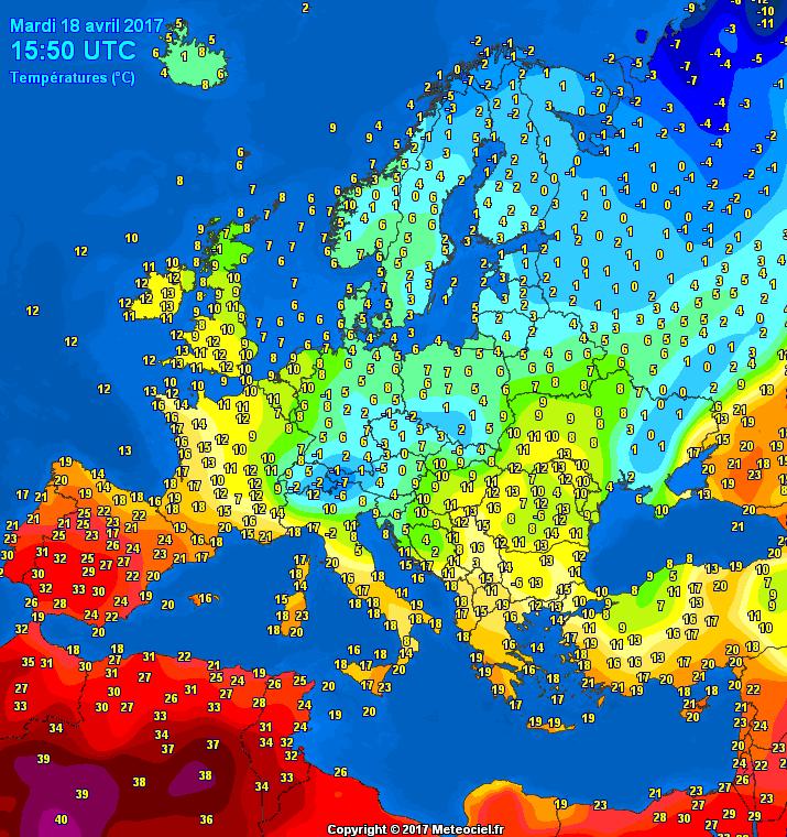 Image d'illustration pour Canicule au Maghreb - Neige & froid en Europe Centrale