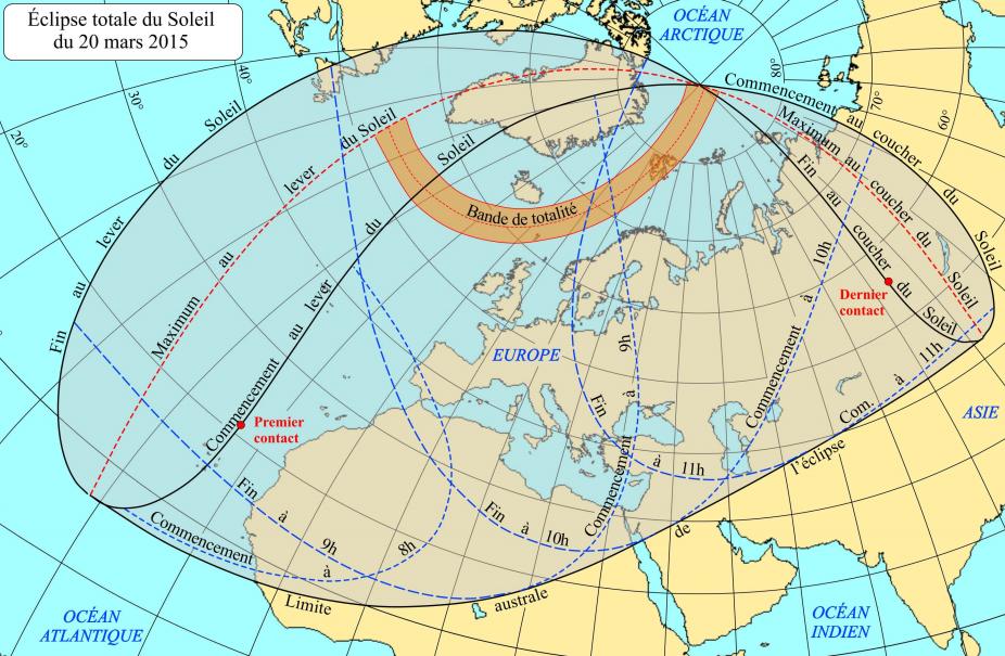 Image d'illustration pour Météo : quel temps pour l'éclipse de soleil du 20 mars ?