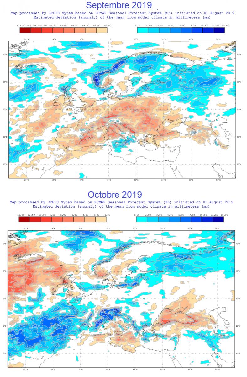 Image d'illustration pour Allons-nous vers une sécheresse automnale en Méditerranée?