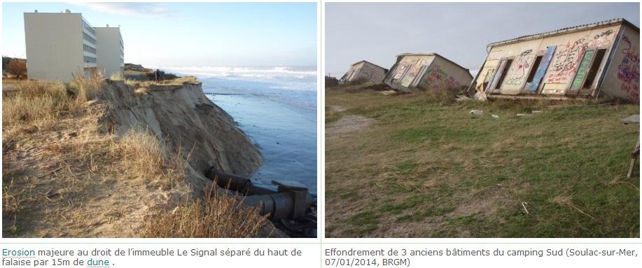 Image d'illustration pour Effets des tempêtes sur le littoral aquitain