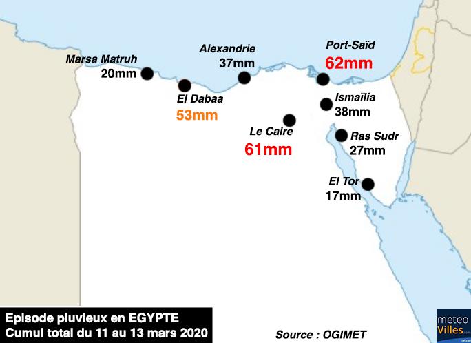 Image d'illustration pour L'Egypte en proie à des inondations meurtrières