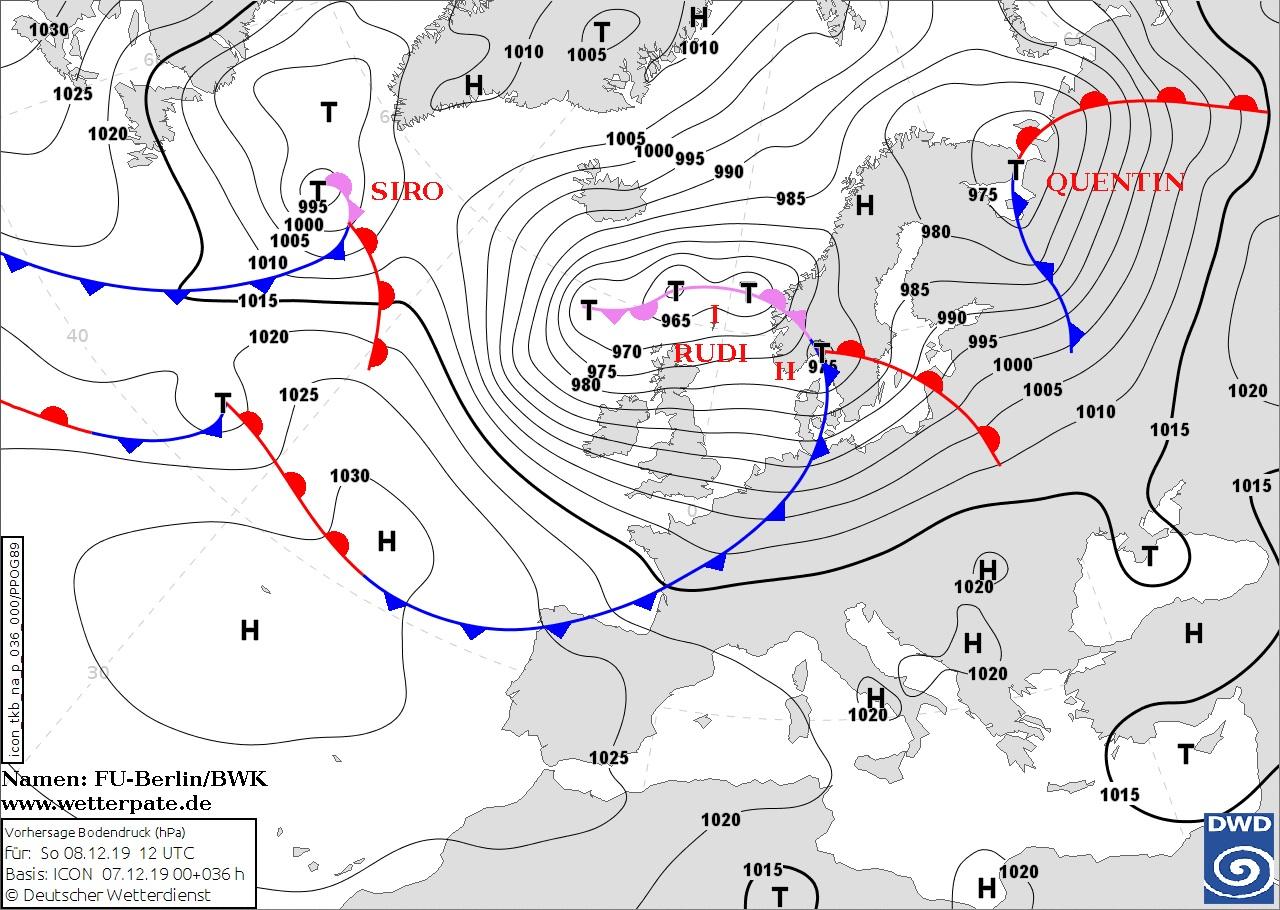 Image d'illustration pour Fort coup de vent entre Dimanche et Lundi sur la France