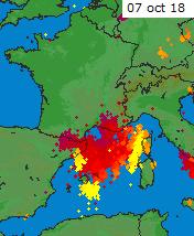 Image d'illustration pour Episode cévenol et Méditerranéen : semaine à risque dans le Sud-Est