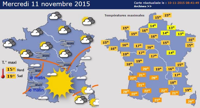 Image d'illustration pour Quelle météo pour le 11 novembre - L'été de la Saint Martin ?