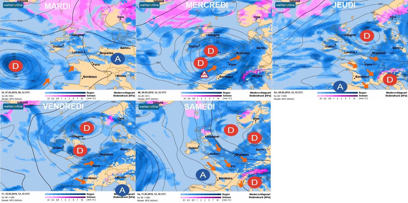 Image d'illustration pour Vers une nouvelle semaine de météo difficile... A quand l'amélioration?