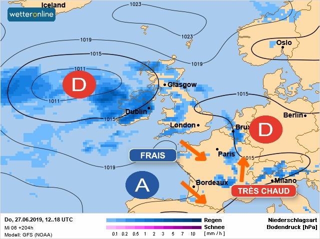 Image d'illustration pour Risque de vague de chaleur la semaine prochaine
