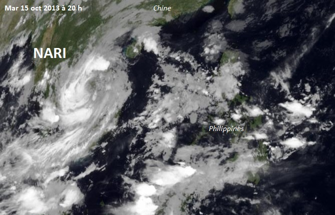 Image d'illustration pour Ex typhon Nari / Santi (Vietnam - Laos - Thaïlande)