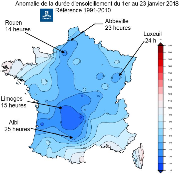 Image d'illustration pour Décembre et janvier très gris sur la France