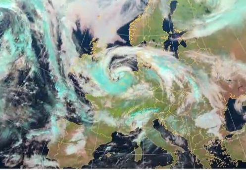 Image d'illustration pour Animation satellite d'octobre 2013 en Europe